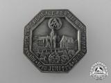 A 1934 Dillenburg SA Brigade 48 Rally Badge