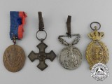 Four Romanian Medals, Awards, and Decorations