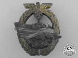 A Kriegsmarine Second Pattern German E-Boat Badge