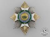 A Saxe-Ernestine House Order; Grand Cross Breast Star Type II (1864-1935)
