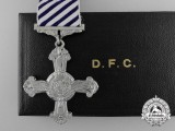 A Second War Distinguished Flying Cross 1944 with Case