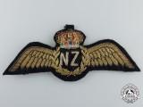 A QEII Royal New Zealand Air Force (RNZAF) Pilot Wings