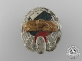 A 1930's Bulgarian Automobile Racing Club Badge,