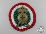 An Italian Infantry Cap Badge