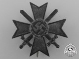A War Merit Cross First Class with Swords by Wilhelm Deumer, Lüdenscheid