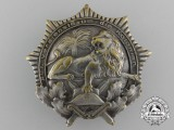 A 1920's German Colonial Veteran Organization Badge
