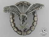 An Early Luftwaffe Pilot's Badge by Assmann