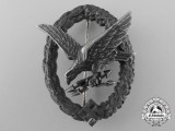 A Radio Operator & Air Gunner Badge by Gebrder Wegerhof, Ldenscheid