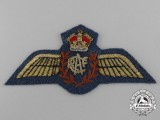 A QEII Royal Canadian Air Force (RCAF) Pilot Badge