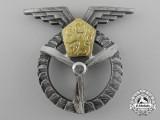 A Czechoslovakian Air Force Ground Air Mechanic Badge, 1st Class