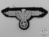 A Fine Waffen-SS Enlisted Men's Sleeve Eagle
