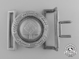 A RAD (Reichsarbeitsdienst) Officer's Belt Buckle with Receiver by F. W. Assmann & Söhne