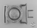 A RAD (Reichsarbeitsdienst) Officer's Belt Buckle with Receiver by F. W. Assmann & Söhne