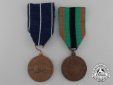 Two Second War Finnish Medals & Awards