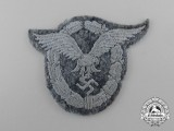 A Luftwaffe Pilot's Badge; Cloth Version