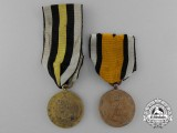A Pair of Prussian Napoleonic Awards 1813-1814
