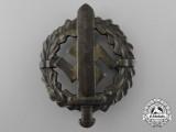 An SA Sports Badge; Gold Grade by Fechler Bernsbach
