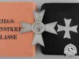 A War Merit Cross 1st Class by Deschler in Case & Cartonage