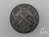 A Scarce German Mine Rescue Decoration in Silver