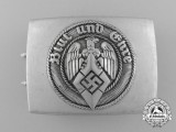 An HJ Belt Buckle by Richard Sieper & Söhne, Lüdenscheid