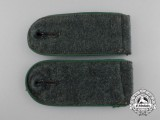 A Matching Set of Wehrmacht Infantry Enlisted Man's Shoulder Boards