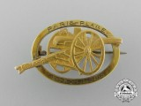 A First War Paris-Plage 1914-1916 Badge in Gold