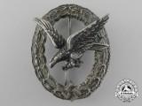 A Luftwaffe Air Gunner's & Flight Engineer's Badge by Assmann