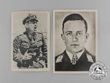 Two Knight's Cross of the Iron Cross Recipients Postcards