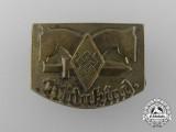 A Third Reich Period HJ Widukind Badge by Hoffstätter Bonn