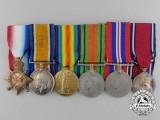 A First & Second War Group to Lieutenant Commander (Engineer) Edgar Percy Smeeton
