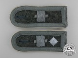 A Pair of Division Feldherrnhalle Feldwebel's Shoulder Straps