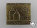 A 1933 Hannover-Braunschweig HJ Meeting Badge