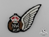 A Second War Royal Canadian Air Force (RCAF) Navigator Wireless (NW) Wing