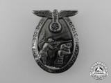 "A 1939 Saarbrücken ""Day of the Wehrmacht"" Celebration Badge"