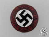 An NSDAP Party Badge by Alois Rettenmaier