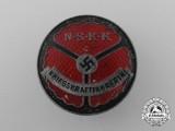 A Rare NSKK Wartime Female Truck Driver's Identification Badge by Noelle & Hueck G.m.b.H