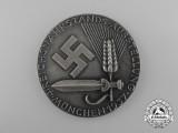 A 1937 Münich Reichsnährstand 4th Exhibition Badge