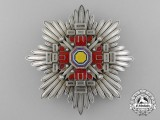 A Chinese (Manchukuo) Order of the Pillars of the State; 2nd Class Breast Star