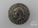 "An Italian Fascist Youth ""Opera Balilla"" Badge"