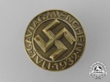 A Fine Quality 1932 Munich Gautagung Badge