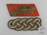 Two Wehrmacht Army General's Insignia