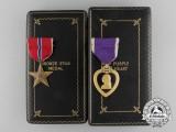 A Second War American Bronze Star & Purple Heart Group to KIA near Dinozé, France 1944
