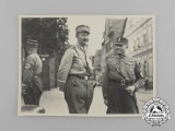 An Unpublished Private Photograph of Three High Ranking SA Officer's