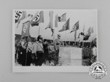 An Unpublished Private Photograph of an NSKK Rally