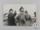 An Unpublished Private Photograph of AH & Kriegsmarine Officer's