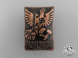 A 1934 HJ Ansbach Bann Meeting Badge by Oechsler