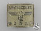 A Rare NSDAP Luftschutz Membership Badge