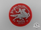 A 1935 10 Years of District Osthannover Celebration Badge