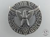 A 1937 Bann 323 Ob. Bayern Lager HJ Badge