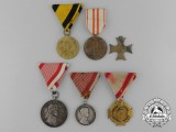 Six Austrian Medal and Awards